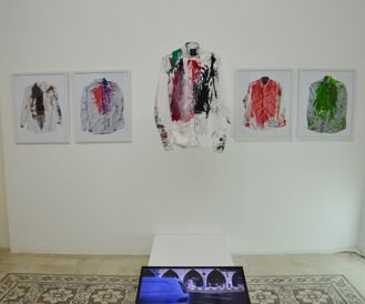 Final Exhibition of Performance relics at Darat Al funun in Jordan n1