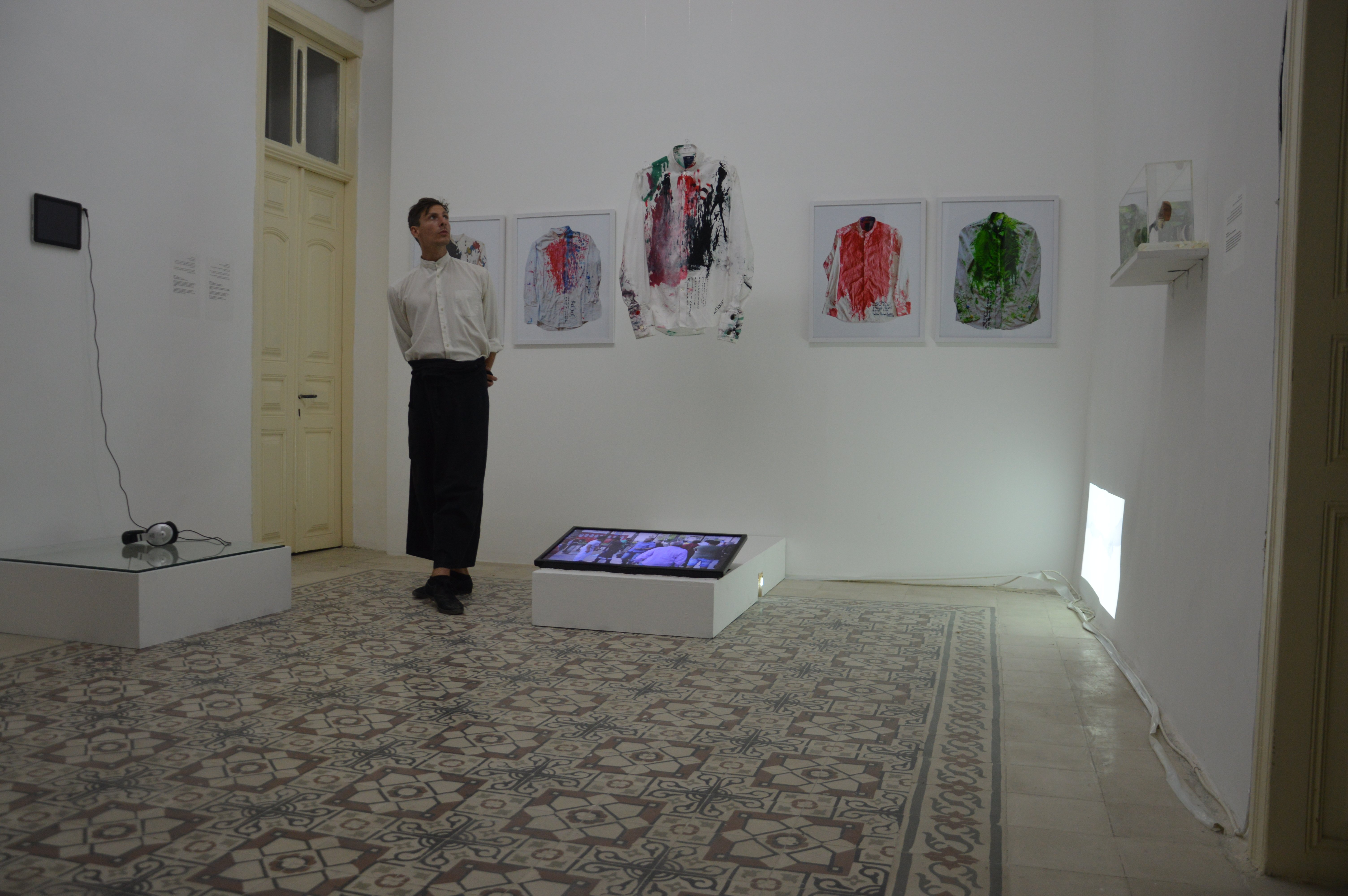 Final Exhibition of Performance relics at Darat Al funun in Jordan n2